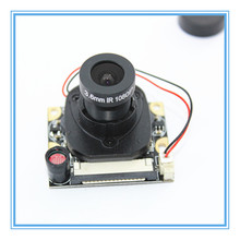 For Raspberry Pi Camera Module with Automatic IR-Cut Night Vision Camera 5MP 1080p HD Webcam for Raspberry Pi 2 3 Model B+ for raspberry pi 3 model b camera module 1080p camera 5mp webcam video camera compatible for raspberry pi 2 model b