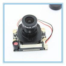 עבור פטל Pi המצלמה מודול עם אוטומטי IR Cut ראיית לילה מצלמה 5MP 1080p HD Webcam לפטל Pi 2 3 דגם B +