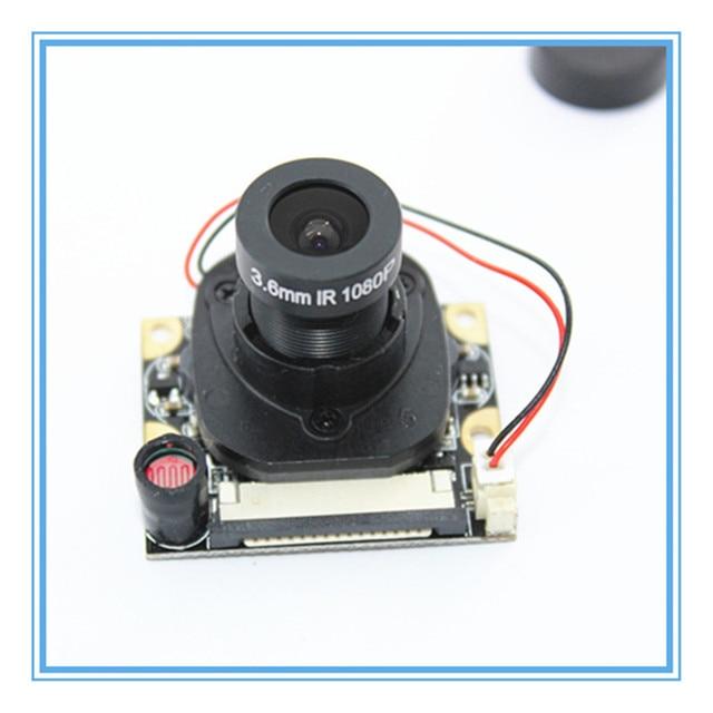 Voor Raspberry Pi Camera Module met Automatische IR Cut Nachtzicht Camera 5MP 1080p HD Webcam voor Raspberry pi 2 3 Model B +