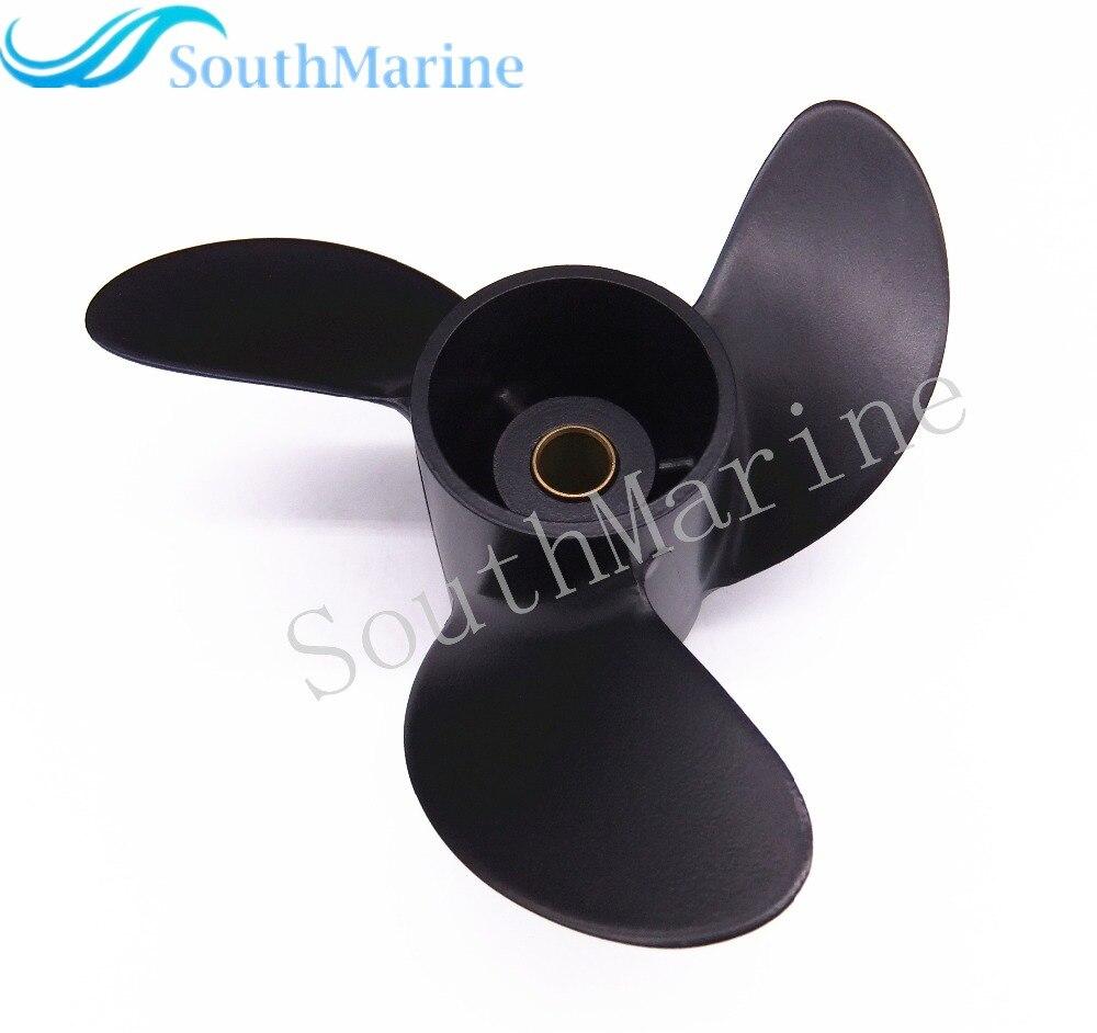 7 8x8 812950 Propeller for Mercury 2 Stroke 5HP Parsun HDX T5 T5 8 Outboard Motor