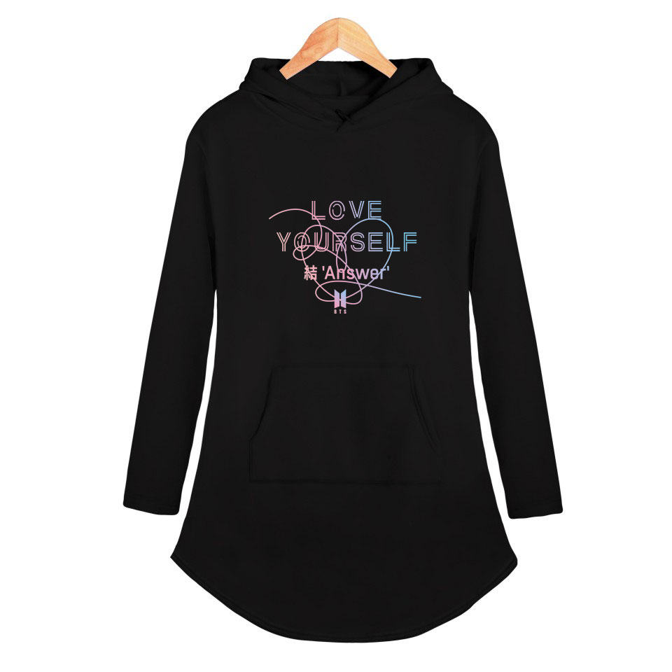 BTS Love Yourself Dress Style Hoodie