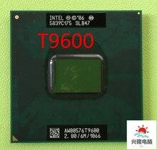 Процессор Intel Core 2 Duo T9600 кэш-память 6 МБ/2,8 ГГц/1066/двухъядерный процессор Socket 479 для ноутбука GM45 PM45 Бесплатная доставка