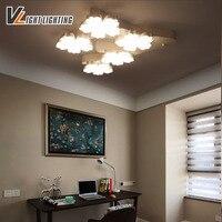 2017 New Modern Led Ceiling Chandelier Lights For Living Room Bedroom Art Indoor Acrylic Ceiling Chandelier