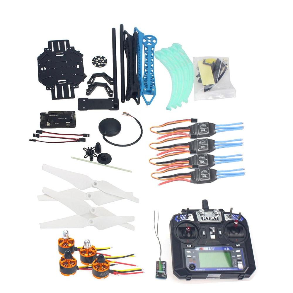 font b RC b font font b Drone b font Quadrocopter 4 axle Aircraft Kit