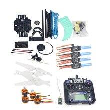 RC Drone Quadrocopter Aviones 4-eje Kit 500mm de Control de Vuelo Multi-Rotor Frame 6 M GPS APM2.8 Flysky FS-i6 transmisor F08151-M