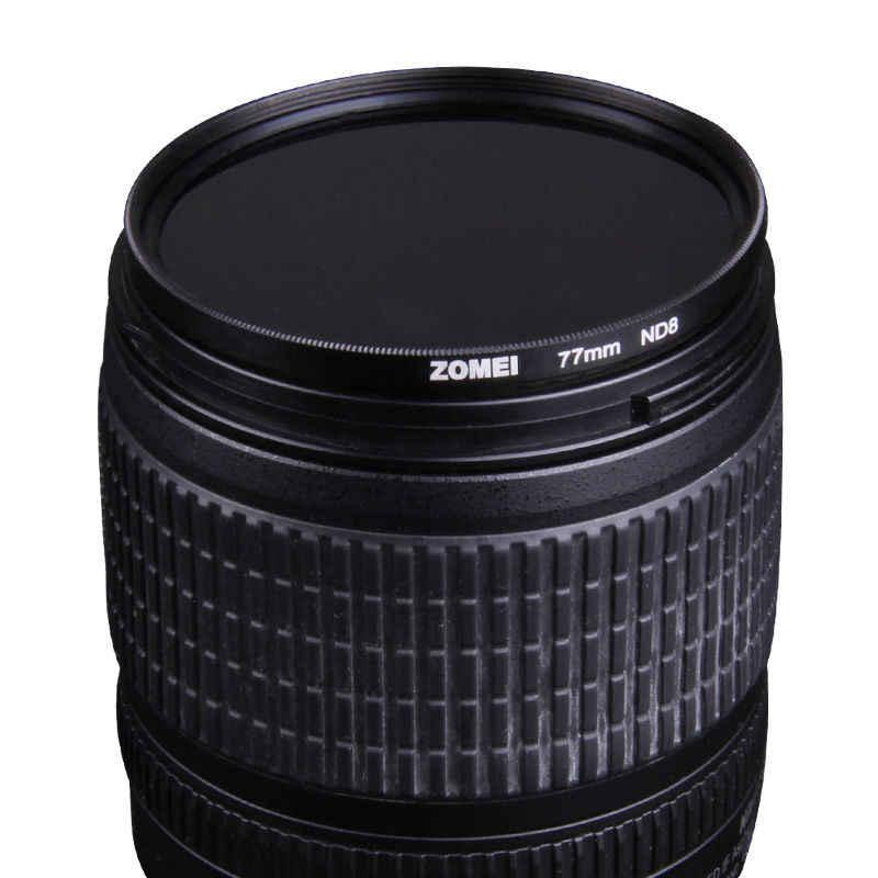 Zomeiกรองความหนาแน่นเป็นกลางเลนส์Kit ND ND2 + + ND4 ND8 52มิลลิเมตร58มิลลิเมตร62มิลลิเมตร67มิลลิเมตร77มิลลิเมตร82มิลลิเมตรสำหรับCanon Nikonโซนี่เลนส์กล้อง