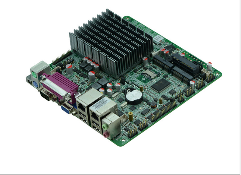 Mini Itx Motherboard With Lan Ports And USB Motherboard Tester With Intel J1900/2.00GHz Quad Core CPU