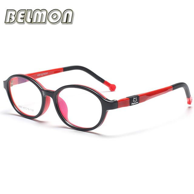 Estudiante de moda Niños Anteojos Recetados Miopía Montura de gafas Marco Óptico Gafas de Los Niños Para El Bebé Boys & Girls RS128