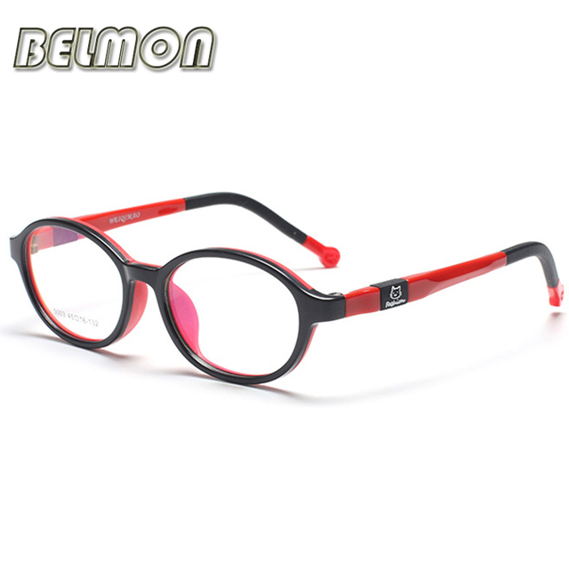 Fashion Student Spectacle Frame Children Myopia Prescription Eyeglasses Optical Kids Glasses Frame For Baby Boys&Girls RS128