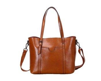 Bag female 2018 new autumn messenger bag fashion wild handbag big bag large capacity shoulder bag leather handbag