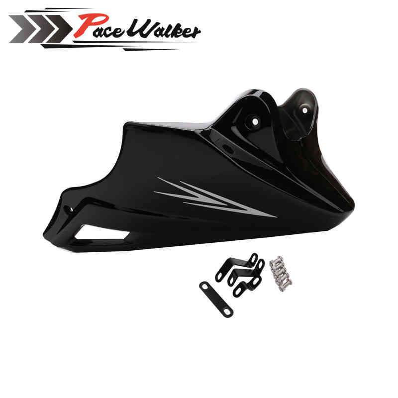Motorcycle Engine Protector Guard Cover Under Cowl Lowered Low Shrouds Fairing For Honda MSX 125 2013 2014 2015 Black Red for honda msx125 msx125sf 2013 2014 2015 2016 blue cnc motor engine guard cover motorcycle engine wrestling decorative cover