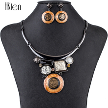 MS1504807, Модные Ювелирные наборы, высокое качество, колье, наборы для женщин, ювелирные изделия, разноцветные, кристалл, смола, уникальный дизайн, вечерние, подарок