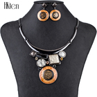 MS1504807 Fashion Jewelry Sets High Quality Necklace Sets For Women Jewelry Multicolored Crystal Resin Unique Design Party Gift