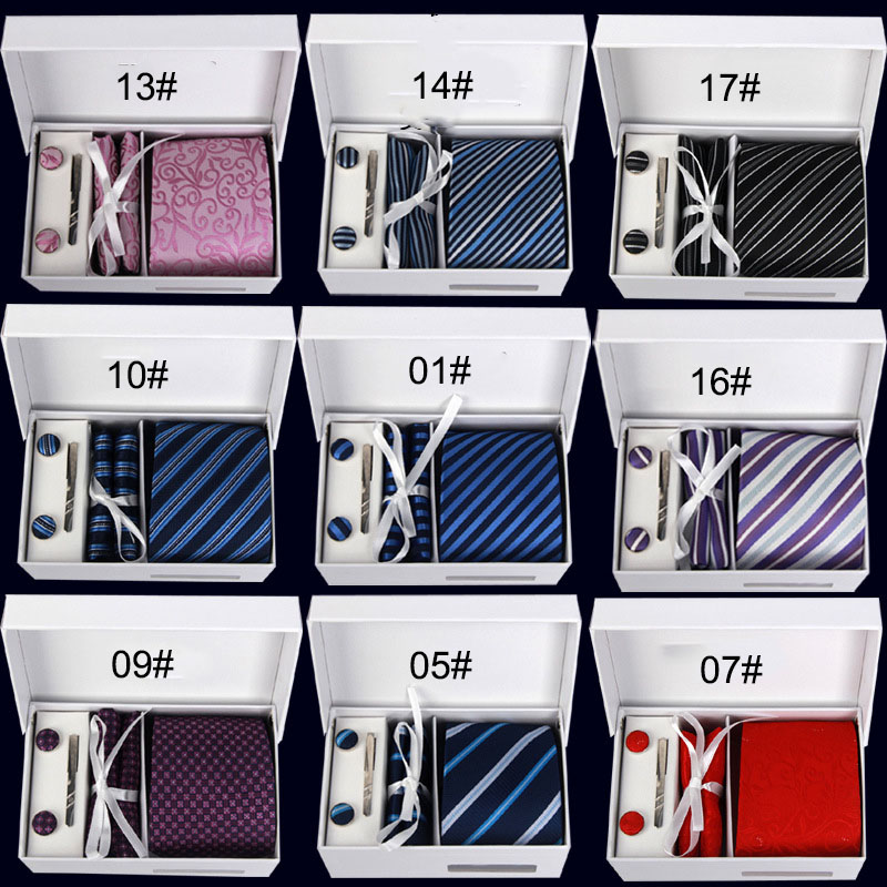 Fashion Classic Men/'s Stripe Style Neck Ties Wedding Party Silk tie gift