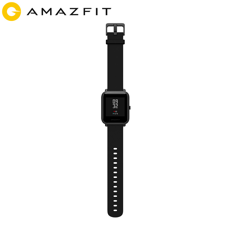 Huami Amazfit Bip reloj inteligente Bluetooth GPS Monitor de ritmo cardíaco IP68 resistente al agua recordatorio de llamada MiFit APP vibración de alarma - 5