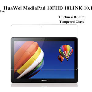 Glass-Screen-Protectors Tempered-Glass Huawei Mediapad for 10FHD 10-Link 3piece