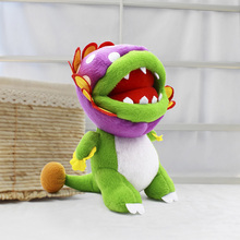 8'' 20cm Super Mario Bros Peluche Piranha Plant Plush Toy Soft Stuffed Toys Baby Animal Cartoon Gift for Children Free Shipping 40cm high quality super mario bros mario luigi stuffed plush dolls soft toys gift for children big size 2pcs lot free shipping