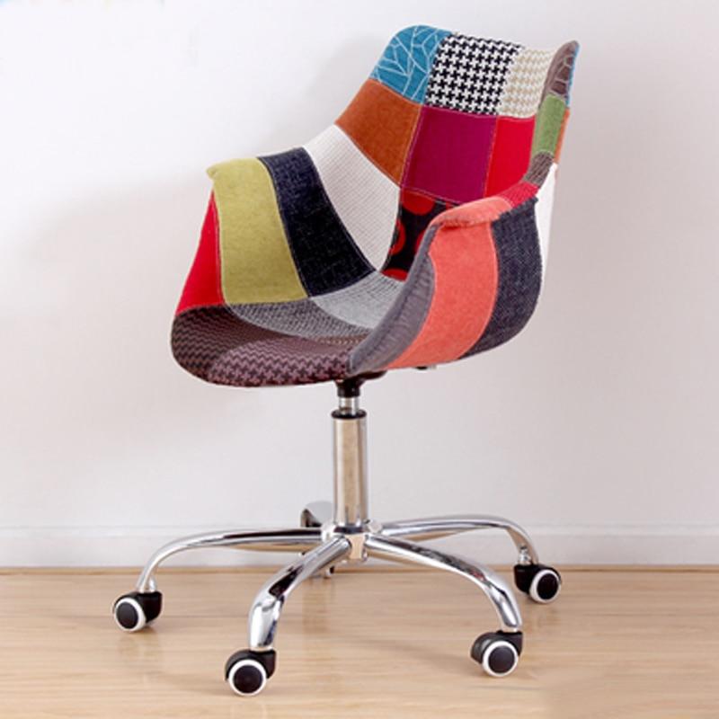 Transparent Modern Design Plastic Swivel Office computer Chair 5 ...