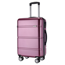 Casual Travel Trolley Luggage Men Women Aluminum Frame Alloy Business Rolling Luggage Airplane Suitcase Spinner Wheels Trunk