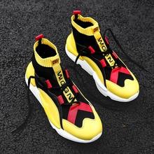 Boots Men Sock Shoes Mens Casual Shoes Winter Brand Sneakers High Top Shoes Men Fashion Comfortatble Man Footwear Drop Shipping цены онлайн