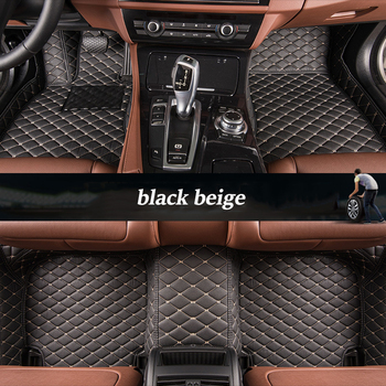 kalaisike Custom car floor mats for Citroen all models C4-Aircross C4-PICASSO C5 C4 C6 C2 C-Elysee C-Triomphe auto styling
