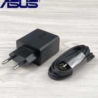 ASUS Zenfone max pro m1 chargeur 5V 2A Eu mur noir adaptateur d'alimentation Micro usb câble pour ASUS Zenfone 2 Laser Max 4