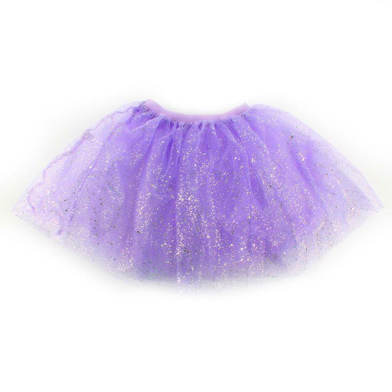 Newest Kids Girls Lovely Princess Short Tutu Skirt Bling Tulle Party Ballet Dance