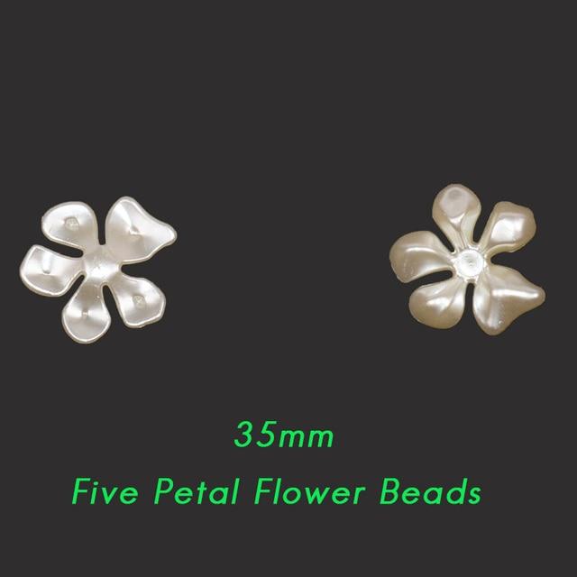 Купить новинка 50/100 шт бежевые abs полимерные полукруглые цветок