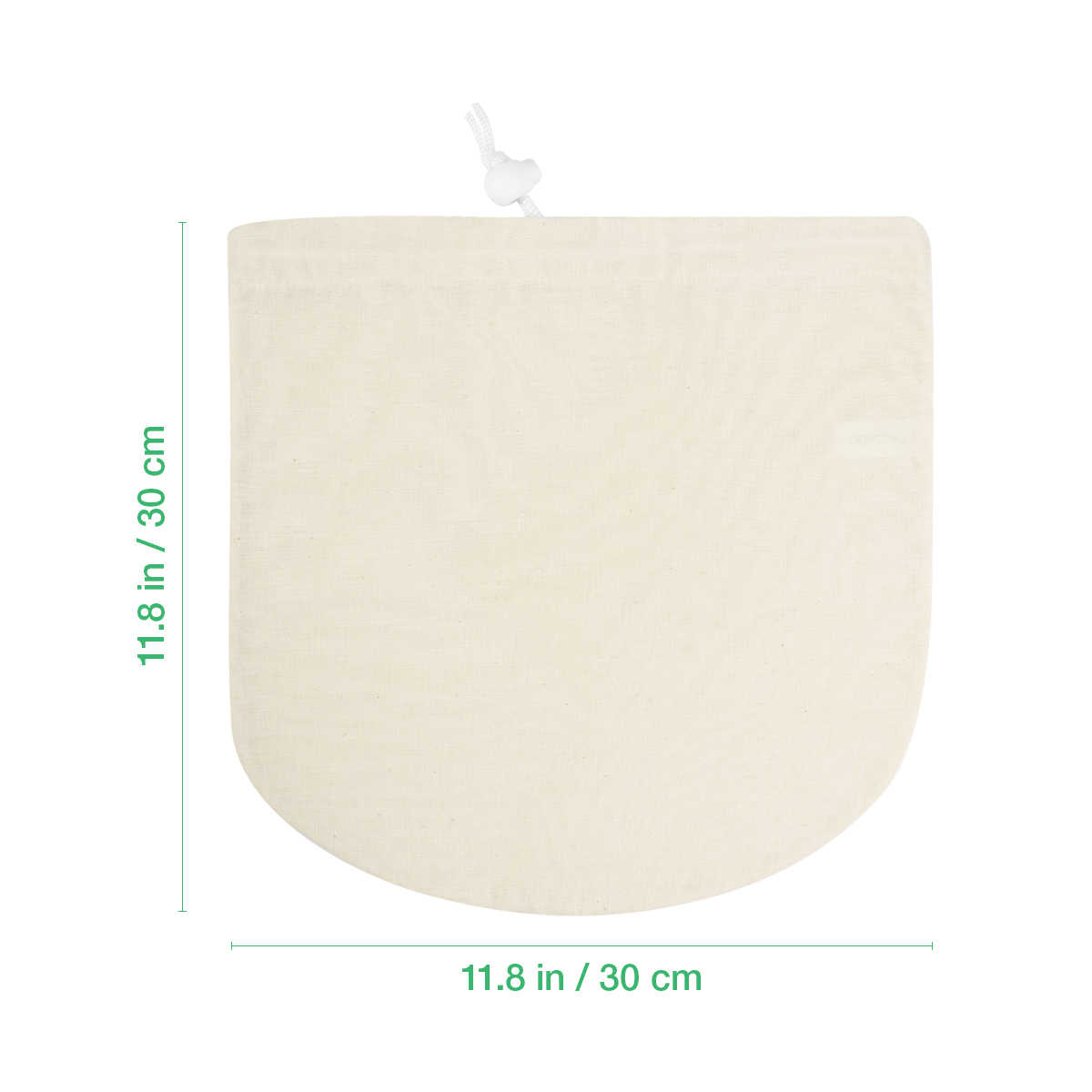 2pcs Mesh Reusable Food Strainer Filter Bag For Cold Brew Coffee Soy Milk Juice Net Strain Herb Liquid Filter Bags