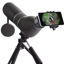 лучшая цена 15-45x60 Monocular Zoom Vision Barlow lens Waterproof HD Zoom Spotting Scope Telescope Professional Spyglass Turizm Catalejo