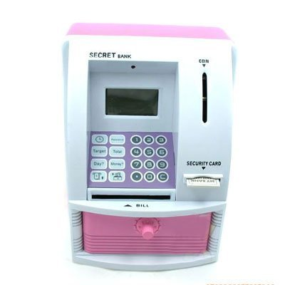 5pcs/lot Mini ATM Automatic Teller Machine