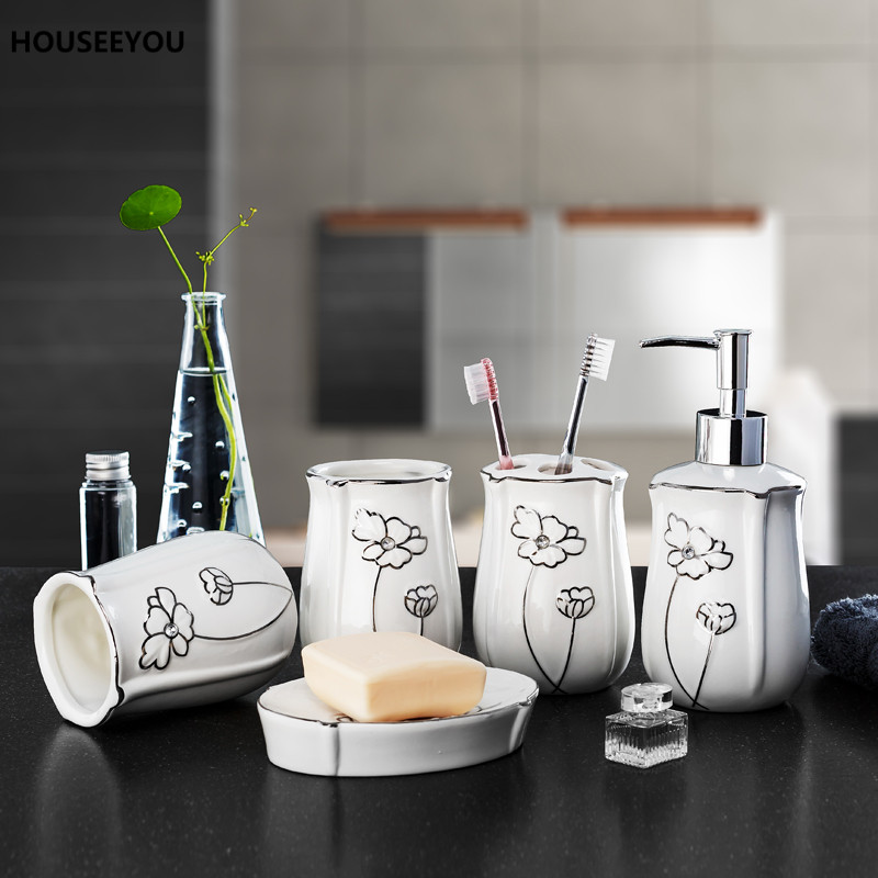 China Bathroom Set Ceramic Bathroom Supplies Wash Kit Toothbrush Cups Kit  Wedding Gifts Bathroom Set Accessories. Popular Bathroom Kit Sets Buy Cheap Bathroom Kit Sets lots from