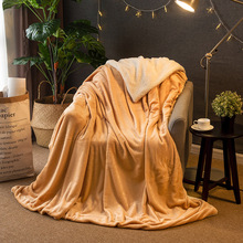 Raschel Blanket Double Ply Long Hair Super Soft Adult Queen King Size Thicken Winter Warm