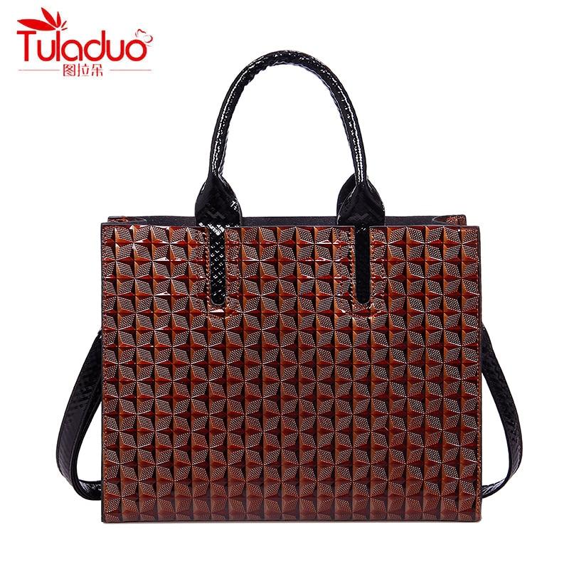 Women Handbags Fashion 3D Printing Women Shoulder Bags High Quality PU Leather Bags Ladies Tote Designer Femme Top-Handle Bags