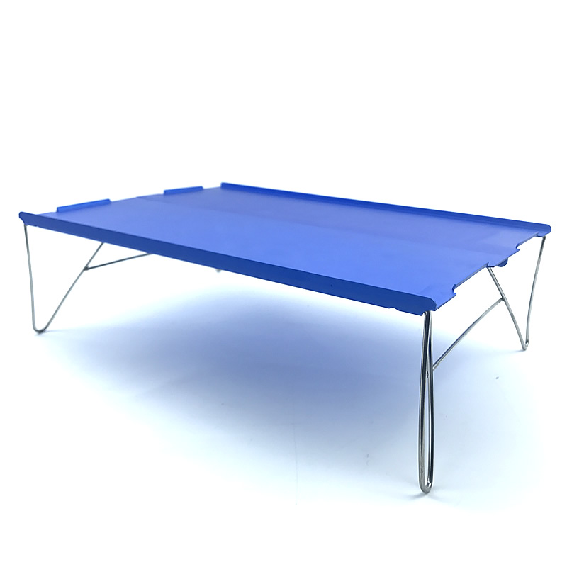 Blue Outdoor Portable Ultralight Mini Camping Tablee Camping Table