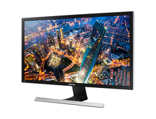 "Samsung LU28E590DS, 71.1 cm (28""), 3840 x 2160 pixels, LED, 1 ms, 700:1, Black, Silver"