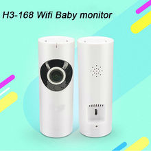 YobangSecurity 720p Panorama Fisheye Wifi Camera Night Vision IR-Cut 2-Way Audio Talking Baby Monitor Safety Security Camera