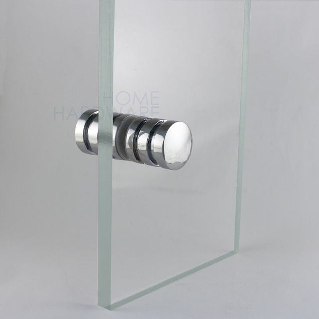 Aliexpress Buy Glass Door Handle Crl Knob Back To Back Chrome