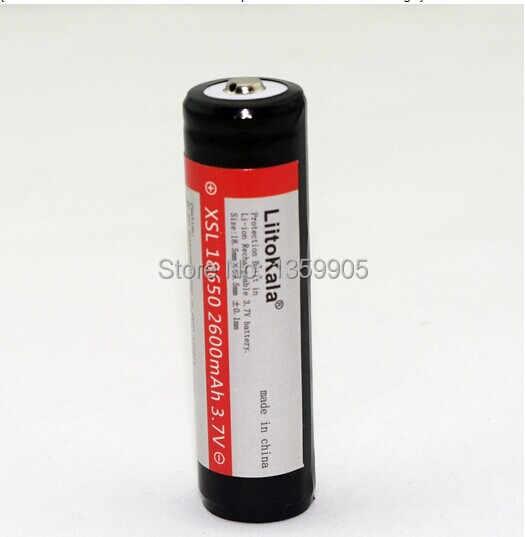 4 CÁI./lô sanyo liitokala 100% new và gốc 18650 3.7 v 2600 mah pin lithium-ion, protected PCB + miễn phí vận chuyển
