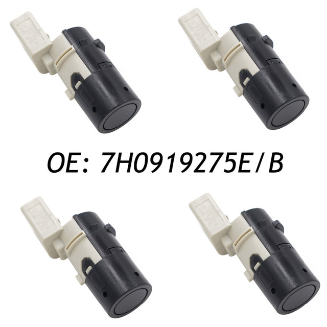 4PCS 7H0919275E/B Backup Parking Sensor PDC Fits Audi A6 4B C5 4F2 C6 4FH C6 4F5 C6