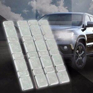 Image 1 - 32 stücke Automobil Auto Reifen Ddiagnostic Werkzeug Balance Bar Reifen Motorrad Werkzeuge Kit Gramm Stahl Jeder Stick Auf rad Balancer Gewicht