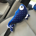 6 Styles Personalized Cartoon Animal Plush Car Safety Seat Belt Covers Shoulder Pads for Kids 2pcs