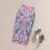 Retro Vintage Fantasia Padrão de Impressão de Cintura Alta Saia Lápis Bodycon Gonne Elástica Midi Hip Apertado Saias Desgaste Mulheres Escritório saia