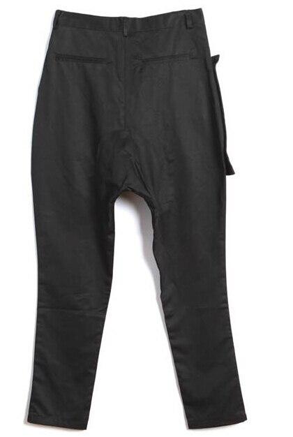 Negro Hombres Calientes Mens 1 Dos De Cargo Verano Juventud Falso Baggy Culottes Casual Pantalones Personalidad TvEBWqxq