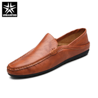 URBANFIND New Men Fashion Flats Casual Loafers Size 39 44 Man Slip On Shoes Male Male