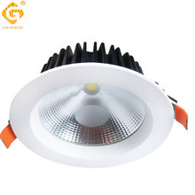 Knob Switch Led Downlight Dimmable Aluminum Foyer Kitchen Dining Room Ceiling Spot Light Non-dimmable 220V Recessed Lights