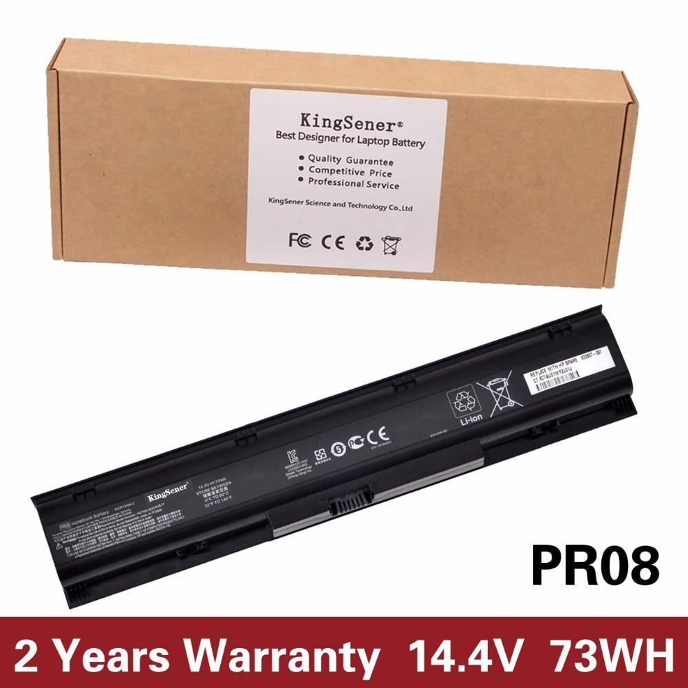 14.4V 73WH Korea Cell KingSener New Laptop Battery For HP Probook 4730S 4740S HSTNN-IB2S HSTNN-LB2S 633734-421 633807-001 PR08 laptop battery for hp bl06xl hstnn db5d 722297 001 722236 171 elitebook folio 1040 g1