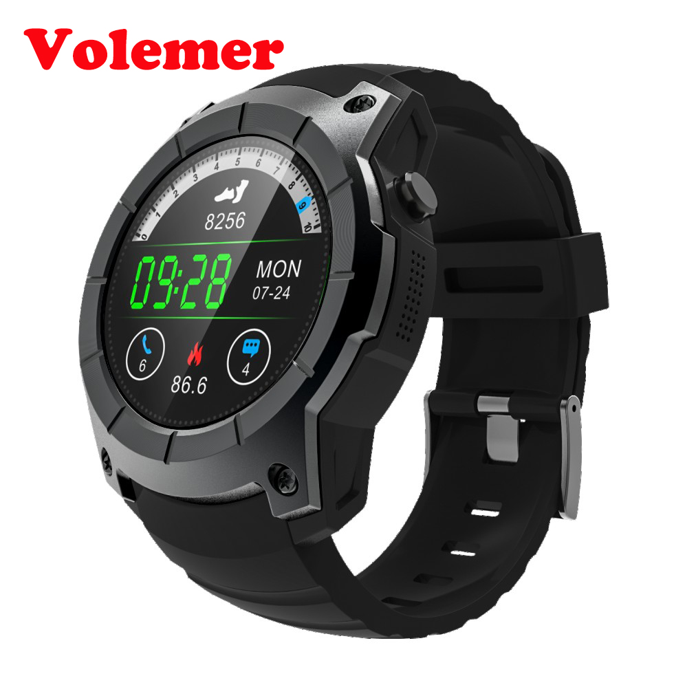 Volemer New Arrival S958 watch Smart Watch Heart rate monitoring Support SIM card GPS WiFi Smartwatch For Android IOS PK S928 smartch s958 smart watch sport waterproof heart rate monitor gps 2g sim card calling all compatible smartwatch for android ios c