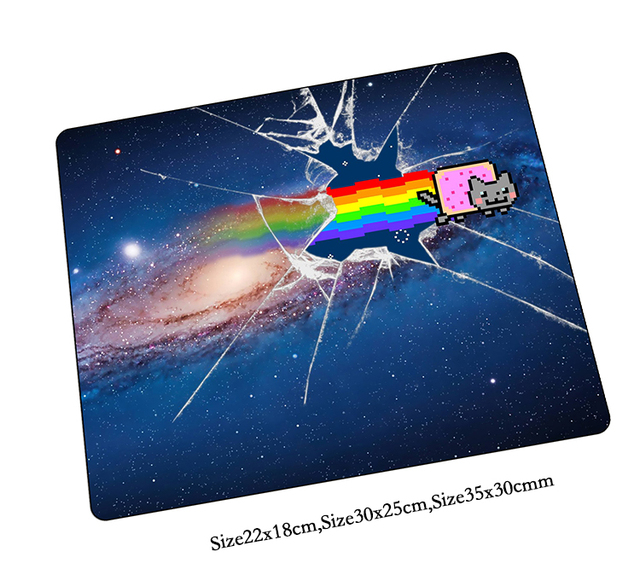Nyan Cat Mouse Pad Hd Pattern Gaming Mousepad Gamer Mouse Mat Pad