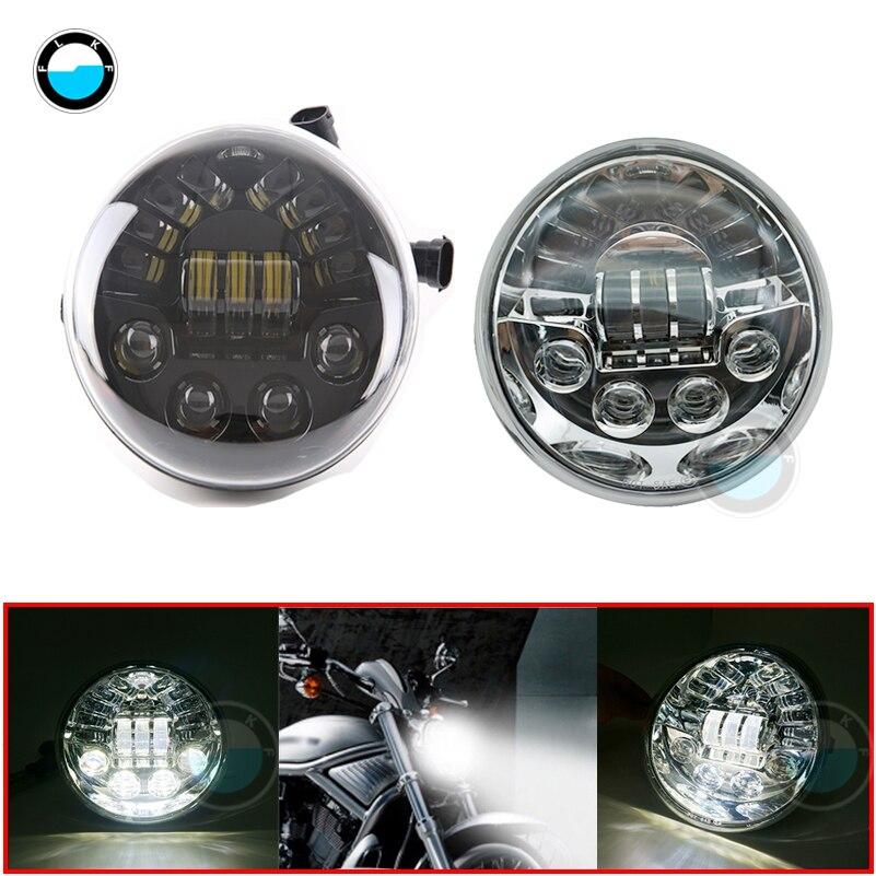 1pcs 12v LED Headlight for Harley Davidson Vrod V Rod V-ROD VRSC VRSCDX VRSCA 2002-2017